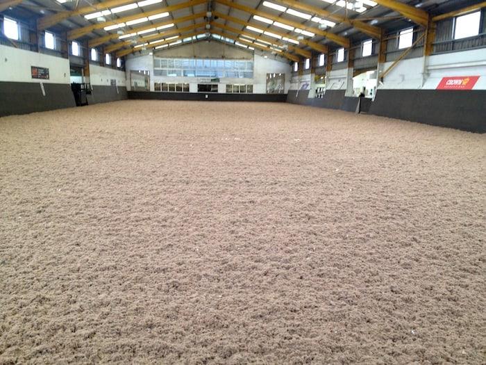 60mx20m indoor arena resurfaced