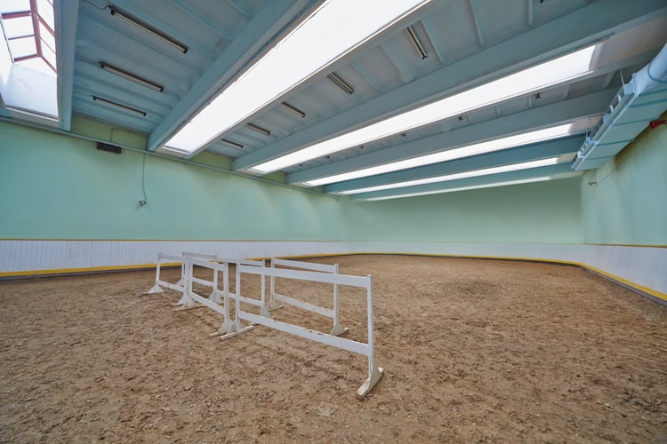 indoor riding arena small