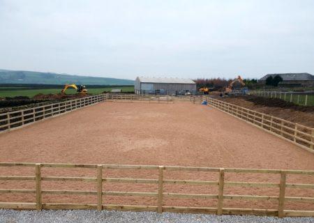 45m x 20m Horse Menage Arena – Colne