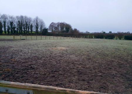 40m x 20m Outdoor Horse Arena – Northwich